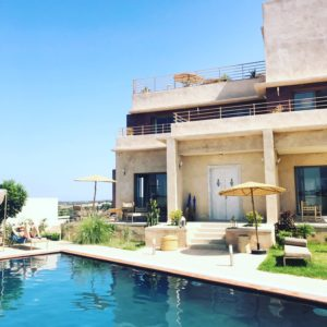Piscine maison d'hôtes Essaouira